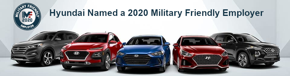 Hyundai Military Friendly Employer