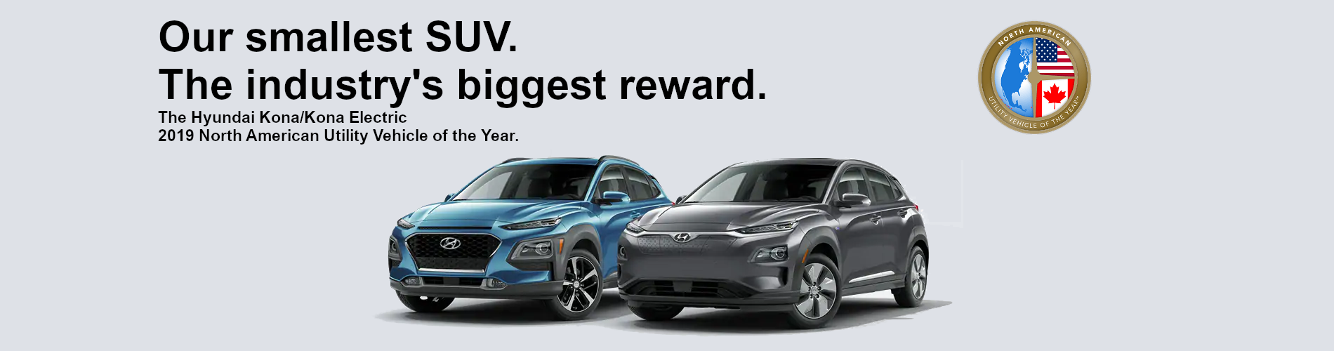 Hyundai Kona - Utility Vehicle of the Year
